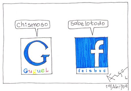 Google Vs. Facebook
