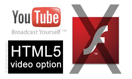 Youtube: HTML5 vs Flash